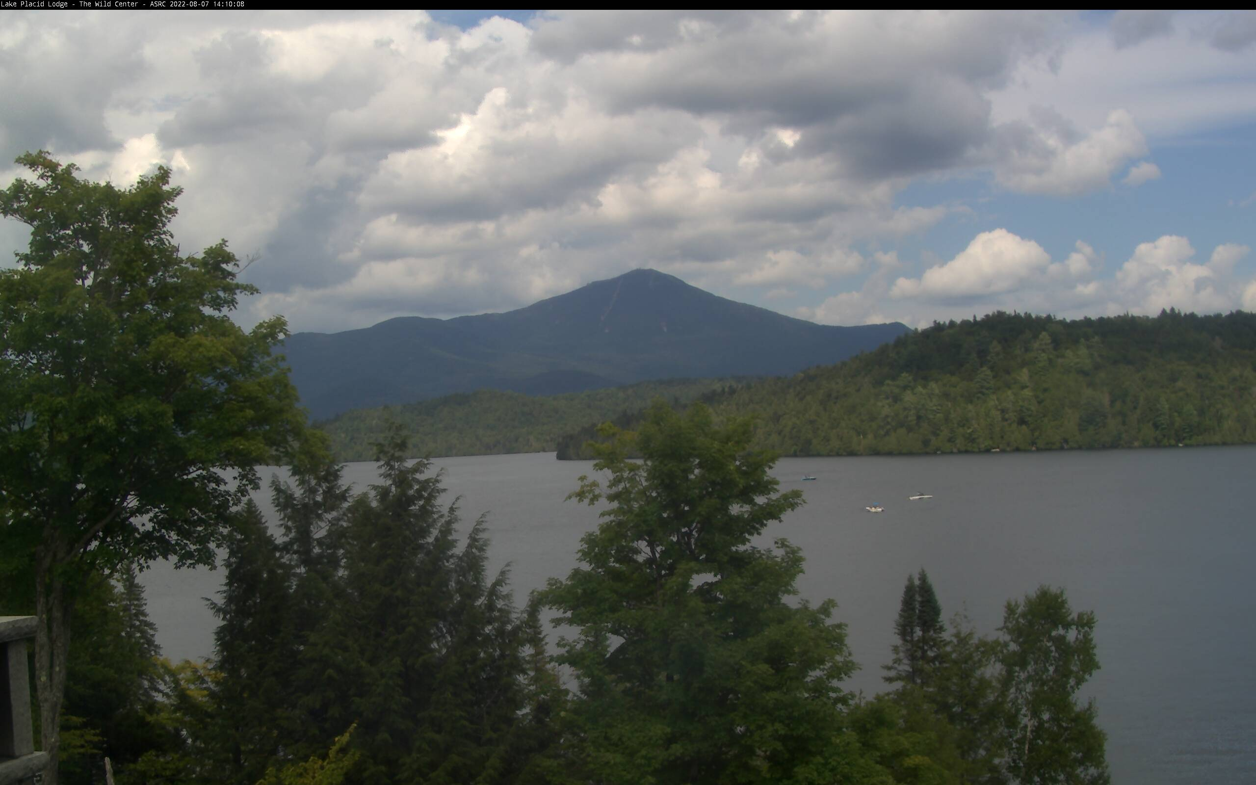 webcam image from Whiteface Mountain Summit